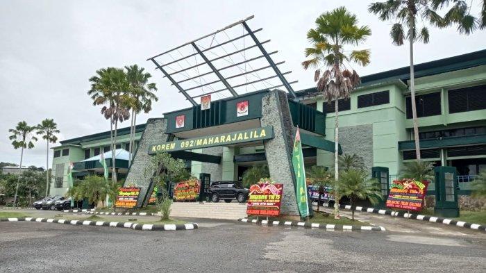 Danrem 092 Maharajalila Brigjen TNI Suratno Sebut Progres Pembangunan Makorem Masih 60 Persen