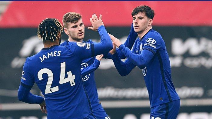 Hasil Liga Inggris, Anak Emas Frank Lampard Selamatkan Tuchel, Chelsea Curi Poin dari Southampton