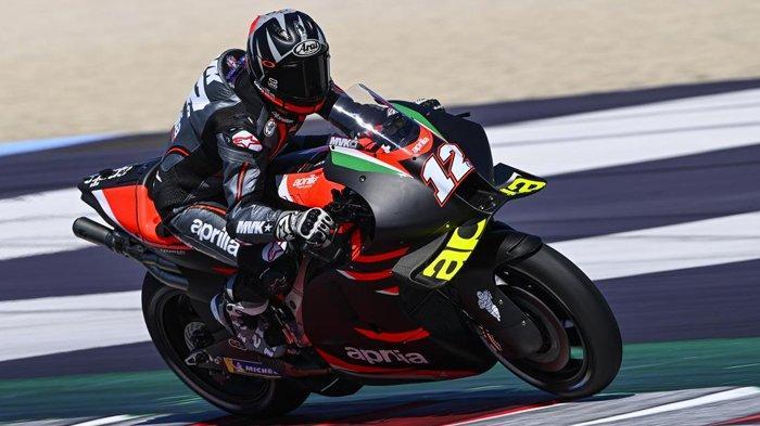 Jadwal MotoGP Aragon 2021, Maverick Vinales Datang, Aprilia Mulai Berani Bidik Gelar Juara Dunia