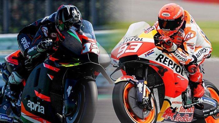 MotoGP Aragon 2021, Vinales Tampil jadi Rekan Setim Aleix Espargaro, Marc Marquez Terancam Sanksi
