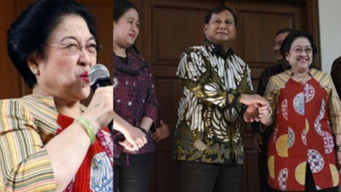 Akrab & Sebut Menhan RI Prabowo Subianto Sahabat, Bos PDIP Megawati Viral, Pengamat Sebut 2 Sejoli