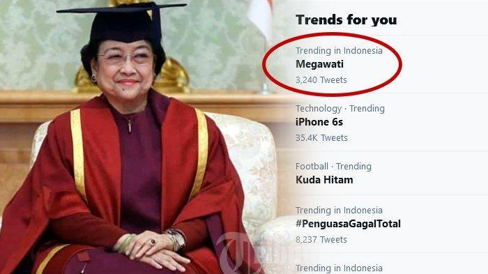 Jurnal Ilmiah Megawati Disindir di Twitter, Gelar Profesor Kehormatan Bos PDIP Ikut Disorot