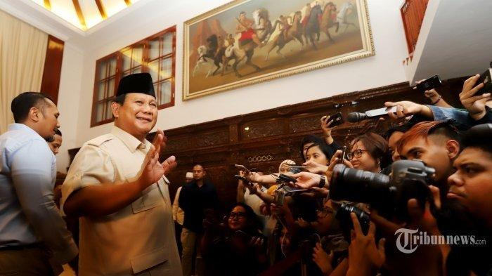 Menhan RI, Prabowo Subianto (TRIBUNNEWS / JEPRIMA)