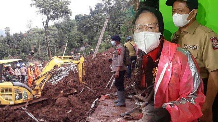 Danramil dan Pejabat BPBD Jadi Korban Tanah Longsor di Sumedang, hingga Mensos Risma Turun Tangan