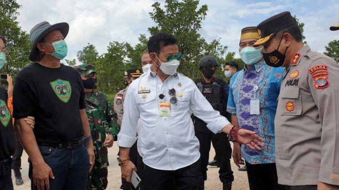 Terkait Food Estate di Bulungan Kaltara, Menteri Pertanian Syahrul Yasin Limpo: Jangan Mengkhayal