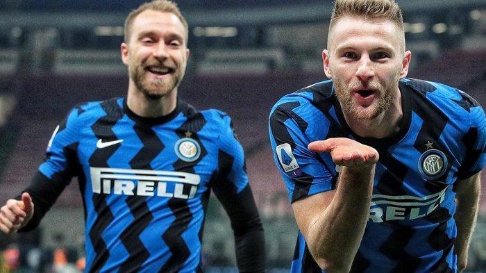 Kado Indah Ulang Tahun ke-113 Inter Milan di Liga Italia, Tumbangkan Atalanta Tinggalkan AC Milan