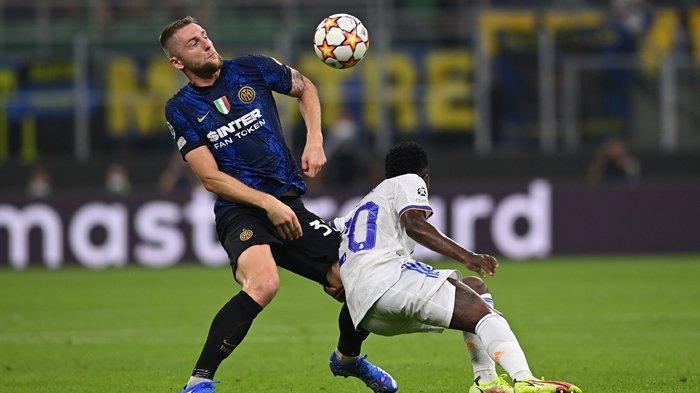 Hasil Liga Champions, Rodrygo Lagi-lagi jadi Mimpi Buruk Inter Milan, Real Madrid Menang Dramatis