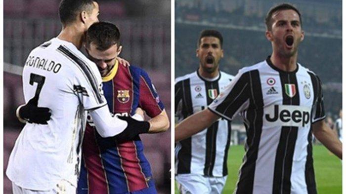 Minim Jam Bermain di Barcelona, Miralem PjanicIngin Kembali ke Juventus, Tukar dengan Aaron Ramsey?