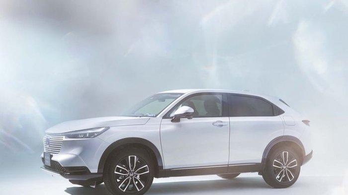 Mobil Honda HR-V generasi terbaru siap mengaspal April 2021. (honda.co.jp)