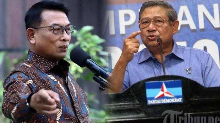 Mendadak Mahfud MD Bongkar Hubungan SBY dan Moeldoko, Sebut Ada Sahabat Lain yang Harus Dihormati