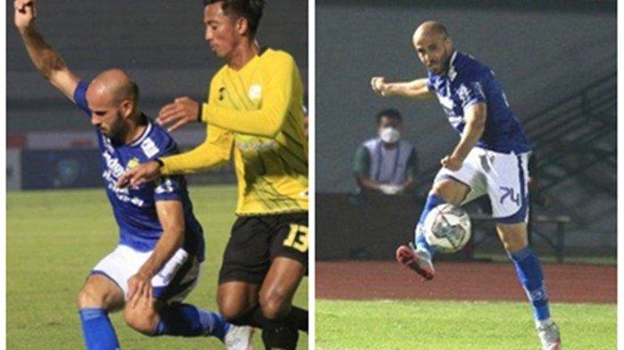 Mohammed Rashid Gelandang Persib Bandung Penjebol Gawang Persita, Pemain Palestina Dicintai Bobotoh
