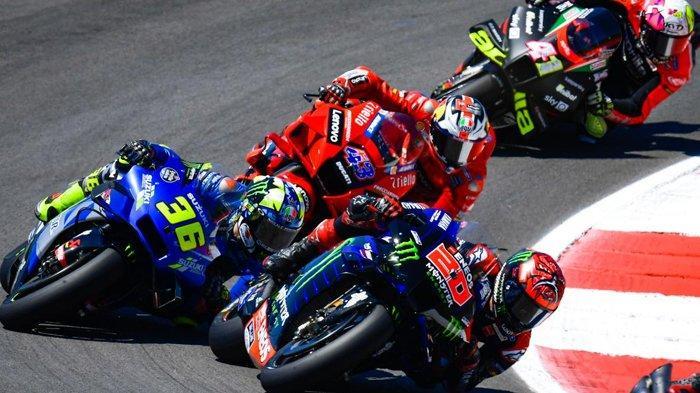 Klasemen MotoGP 2021, Joan Mir Buntuti Quartararo, Marc Marquez dan Valentino Rossi Kompak Melorot