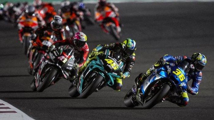 Jadwal MotoGP Portugal 2021, Rossi Anjlok, Quartararo dan Vinales Ancam Pebalap Ducati di Klasemen