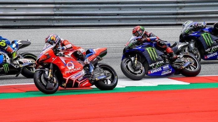 Hasil Kualifikasi MotoGP Austria 2021, Jorge Martin Pole Position, Valentino Rossi Menyedihkan