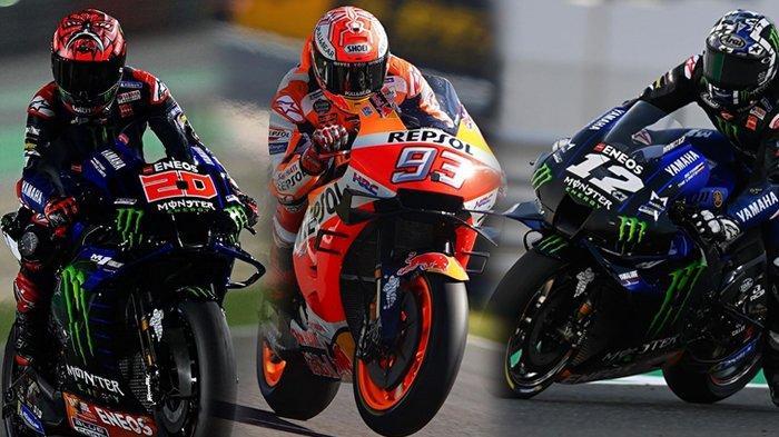 Jadwal MotoGP Spanyol 2021, Rossi dan Marquez Tercecer, Quartararo Pole Position di Sirkuit Jerez