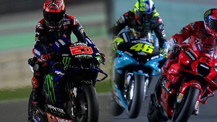 Link Live Streaming MotoGP Qatar 2021, Debut Valentino Rossi di Yamaha Petronas SRT Tayang di Trans7