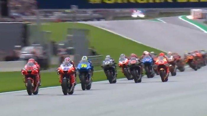 Live Streaming MotoGP Styria 2021, Jorge Martin Memimpin, Marc Marquez Tercecer, Tayang dI Trans7