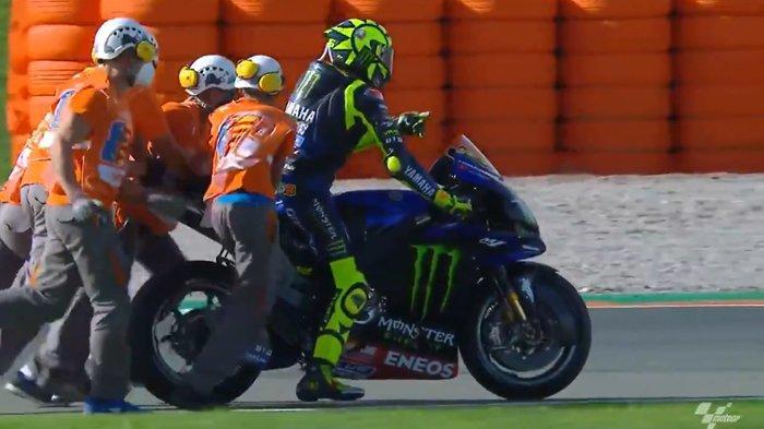Gagal Total di MotoGP Eropa, Valentino Rossi Marah Besar ke Yamaha, Singgung Performa Suzuki