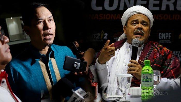 Ditahan di Rutan Bareskrim, Kondisi Terkini Habib Rizieq Shihab Diungkap Eks Sekretaris FPI Munarman