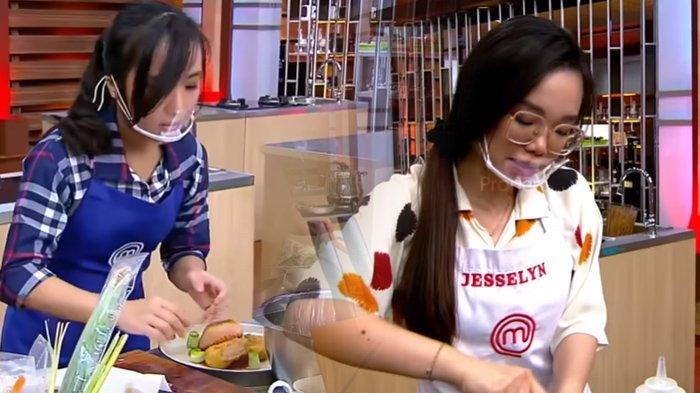 Nadya dan Jesselyn lolos ke Grand Final MasterChef Indonesia Season 8 Episode 23, Minggu (22/8/2021). (YouTube / MasterChef Indonesia)