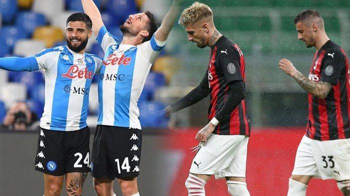 Skenario AC Milan Bisa Gagal ke Liga Champions, Napoli Bangkit di Liga Italia, Inter Tatap Scudetto