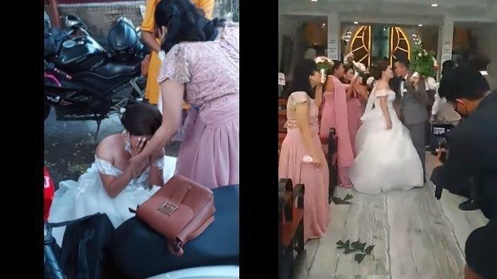 Ditipu WO Rp 32 Juta, Pengantin Perempuan Menangis Tak Ada Catering dan Pelaminan di Hari Pernikahan