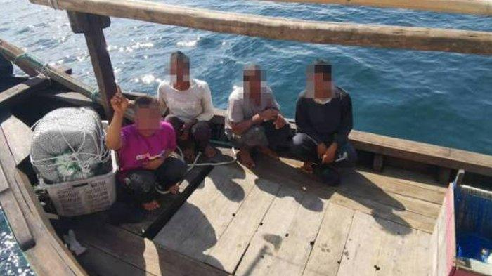 Nelayan Indonesia Ditangkap di Perbatasan RI-Malaysia, Terancam Denda Rp 20 Milyar, Hukuman Cambuk
