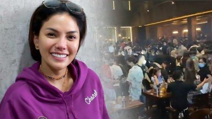 Nikita Mirzani terseret kasus penggerebekan restoran Holywings. (Kolase TribunKaltara.com / Wartakotalive.com/Arie Puji Waluyo dan TikTok)