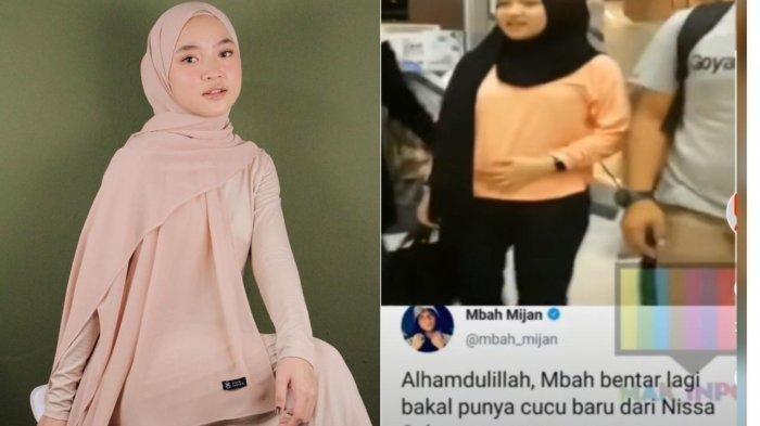 Video Nissa Sabyan Elus Perut Disorot, Penyanyi Sabyan Gambus Hamil? Eks Manajer Angkat Bicara