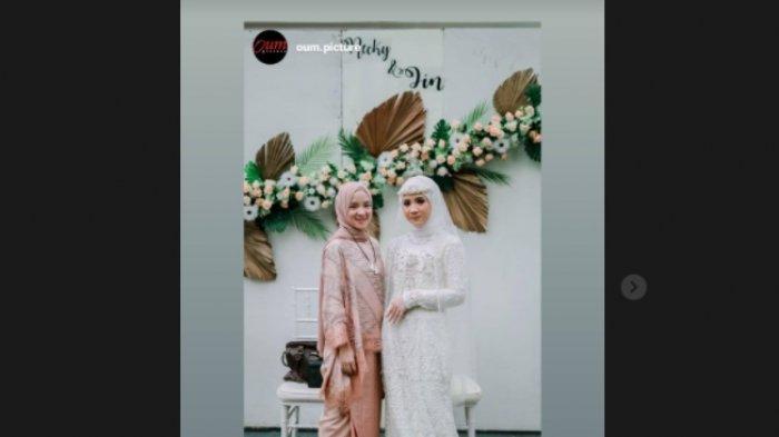 Sempat Digosipkan Berbadan Dua, Foto Terbaru Nissa Sabyan di Pernikahan Disorot, Kemana Ayus Sabyan?