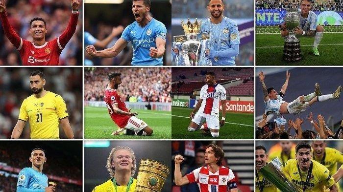 Inilah Nominasi 30 Pemain Ballon d'Or 2021, Masih Ada Nama Cristiano Ronaldo, Messi dan Salah