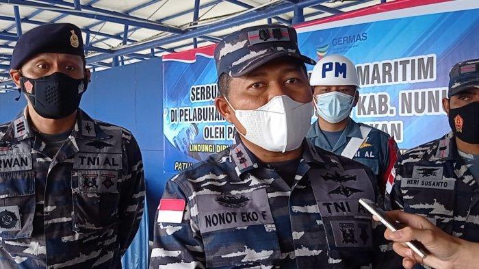 Serbuan Vaksin di Pelabuhan Liem Hie Djung Diminati Warga, Danlanal Nunukan: Belum Dapat Bersabar