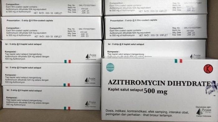 Pyridam Farma Produksi Azithromycin Obat untuk Terapi Penyembuhan Penderita Covid-19, Dukung HET