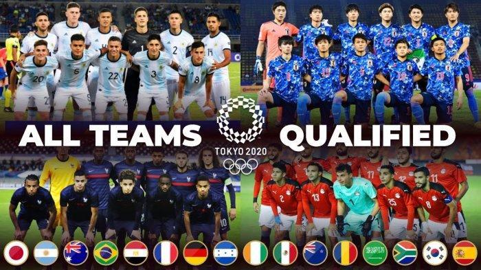 Jadwal Sepak Bola Olimpiade Tokyo 2020 Mulai Kamis 22 Juli 2021, Laga Pertama Mesir vs Spanyol
