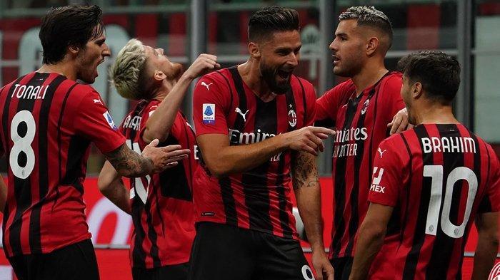 Petaka AC Milan, Giroud Terancam Absen saat Big Match Liga Italia Lawan Lazio