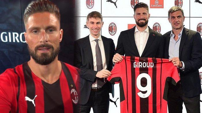 Olivier Giroud Siap Gebrak Liga Italia, Optimis Pakai Nomor Punggung Keramat di AC Milan
