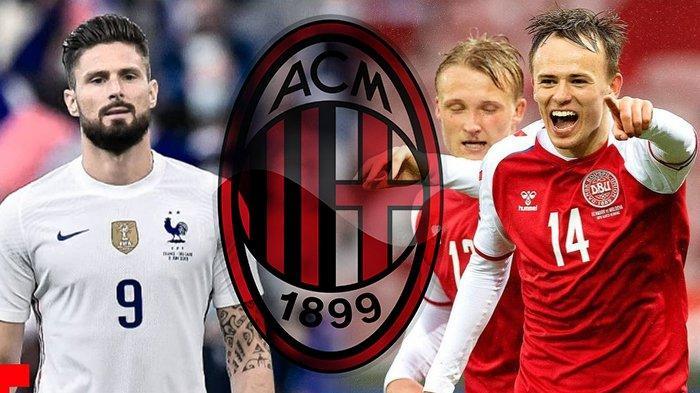 AC Milan dan Giroud Capai Kata Sepakat, Segera Tinggalkan Chelsea, Mikkel Damsgaard Masuk Radar