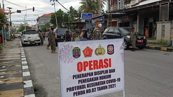 Jelang Idul Fitri 1442 H, Operasi Masker Gabungan Ditingkatkan, Berikut Keterangan Satpol PP Nunukan
