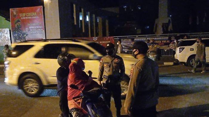 Bersama TNI-Polri Gelar Operasi Masker, Satpol PP Nunukan Sebut Pelanggar Kebanyakan Orang Dewasa