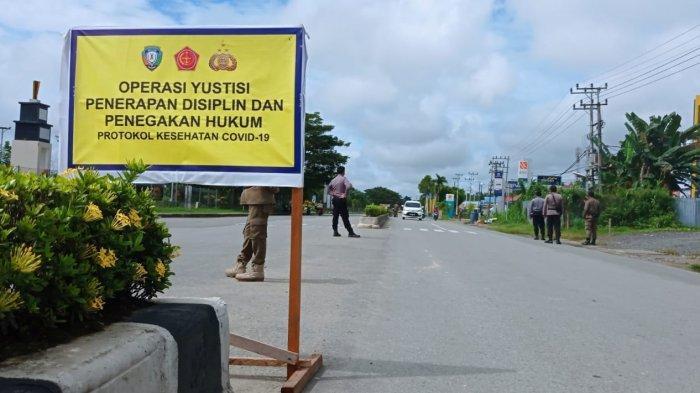Ilustrasi - Operasi Yustisi personel penerapan disiplin protokol kesehatan Covid-19 di Kecamatan Malinau Kota, Kabupaten Malinau, Provinsi Kalimantan Utara, beberapa waktu lalu. (TRIBUNKALTARA.COM/MOHAMMAD SUPRI)