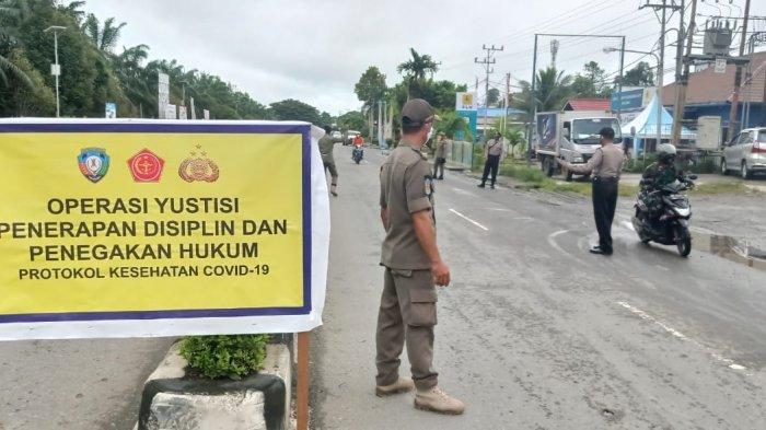Hati-hati Ketahuan Tidak Pakai Masker di Malinau, DisuruhMenghafal Pancasila dan Push up
