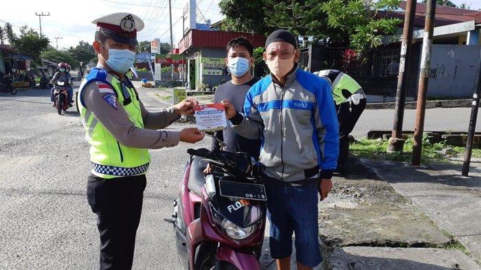 Operasi Zebra Polres Nunukan, Kasat Lantas AKP Andre Sebut Tak Kedepankan Tilang Kepada Pelanggar