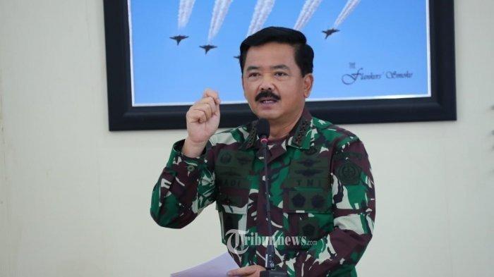 Kepada Doni Monardo, Panglima TNI Hadi Tjahjanto Tegaskan TNI Pasang Badan Tangani Covid-19