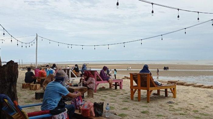 Libur Tahun Baru 2021, Pantai Binalatung Tarakan Alami Penurunan Pengunjung