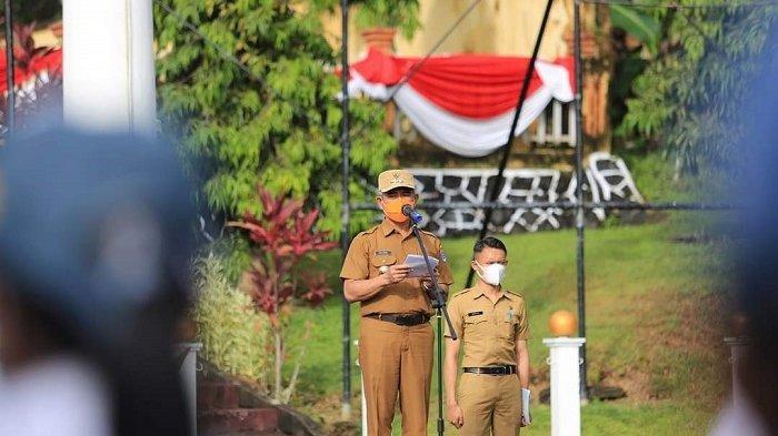 Wali Kota Tarakan, dr H Khairul, M.Kes membuka pelaksanaan pendidikan dan pelatihan (Diklat ) Calon Pasukan Pengibar Bendera Pusaka (Paskibraka) Kota Tarakan 2021.