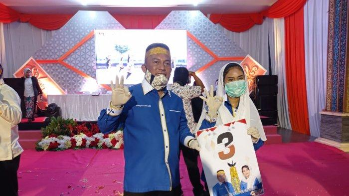 Debat Publik Pilkada Bulungan, Pasangan Calon Najamuddin-Ari Yusnita Janjikan Rp 50 Juta Setiap RT