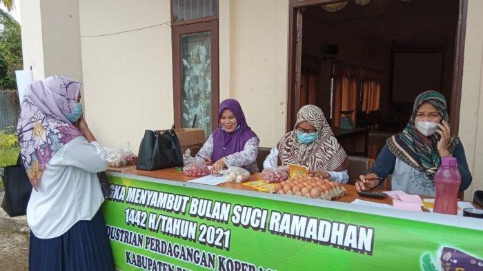 Hanya Hari Ini, Disperindag Bulungan Gelar Pasar Murah di Tanjung Selor Menyambut Bulan Ramadan