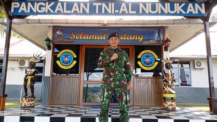 Pasops Lanal Nunukan Kapten Laut (P) Abdul Khalik, Jadi Tentara Karena Terinspirasi Film Perang