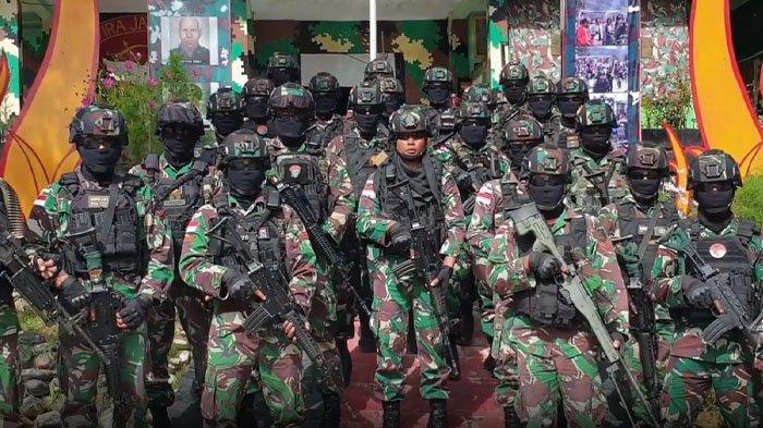 500 Pasukan Raider Khusus TNI Angkatan Darat Dikerahkan Tumpas KKB Papua, Disebar di 8 Wilayah Rawan