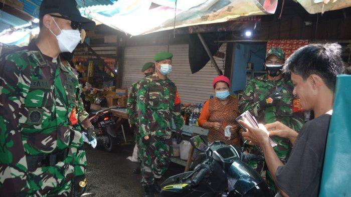 Kodim 0907 Tarakan Lakukan Patroli Protokol Kesehatan, Masih Temukan Warga Tak Pakai Masker